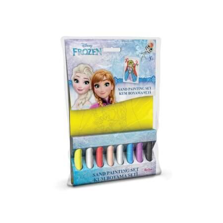 """Mini spalvoto smėlio rinkinys """"Frozen"""""""