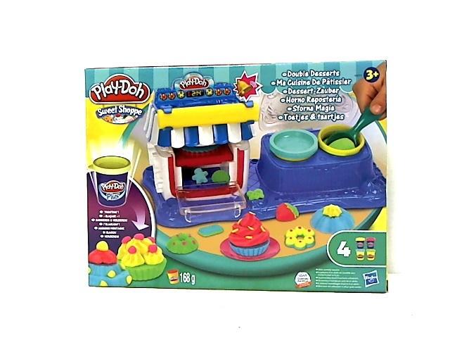 Play-Doh rinkinys DVIGUBAS DESERTAS plastilinas vaikams A5013