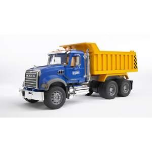 BRUDER savivartis sunkvežimis MACK su pakeliama priekaba, 02815