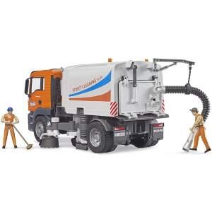 BRUDER gatvių valymo mašina MAN TGS BRUDER 03780 Man TGS Street Sweeper, 03780
