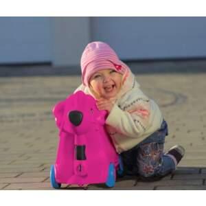 Vaikiškas lagaminas ant ratukų Bobby Trolley rožinis panašus į Trunki