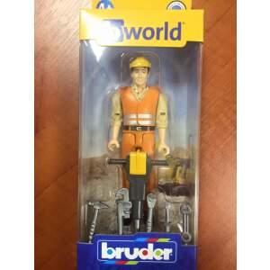 BRUDER Statybininkas su priedais, 60020