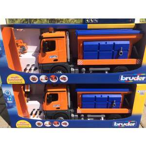 BRUDER Sniego valymo  mašina valytuvas - barstytuvas, 03685