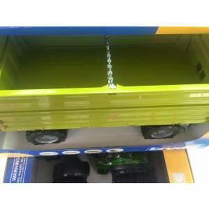 BRUDER vaikiška žaislinė priekaba su nuleidžiamai bortais, 02203