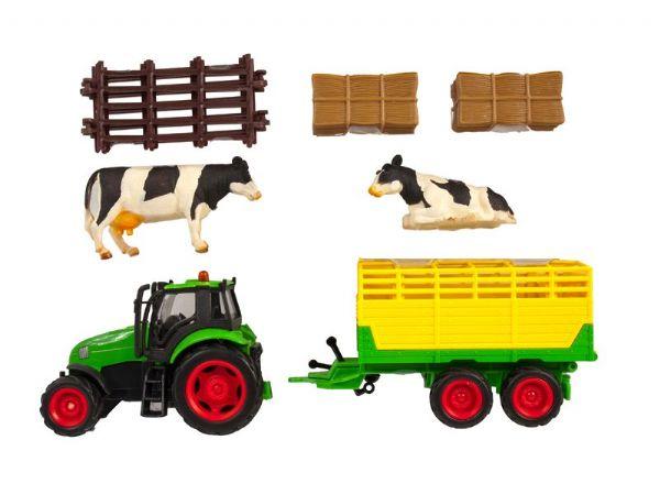 Ūkis su aksesuarais KIDS GLOBE FARMYARD rinkinys