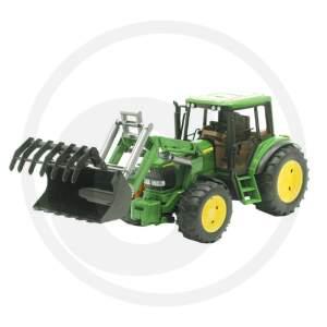 BRUDER JOHN DEERE 6920 Traktoriukas su priekiniu kaušu