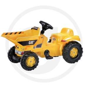 Minamas traktoriukas vaikams ROLLY TOYS CAT DUMPER