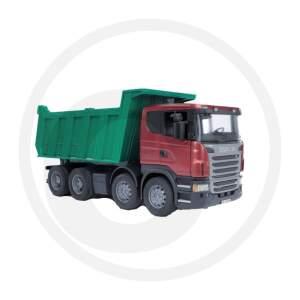 BRUDER savivartis sunkvežimis Scania R su konteineriu savivartis