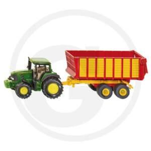 Siku Traktorius su priekaba 1:87