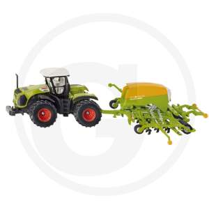 Siku Tractor with seed drill Claas