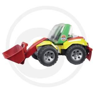 BRUDER žaislinis ratinis ekskavatorius