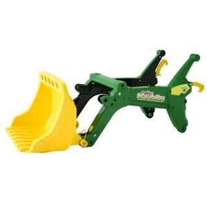 Priekinis kaušas minamam traktoriui Rolly Toys rollyTrac loader John Deere
