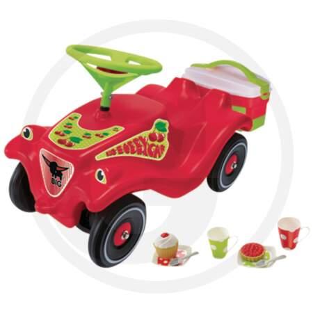 BIG BOBBY-CAR CL - CHERRY-GIRL paspiriama mašinytė
