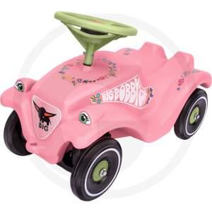 BIG Bobby Car Classic Flower paspiriama mašinytė mažoms mergaitėms
