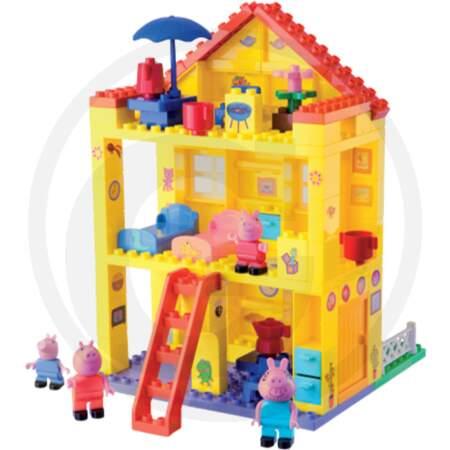 Kalėdinė dovana Peppa pig rinkinys BIG BLOXX PEPPA PIG HOUSE namelis peppa pig