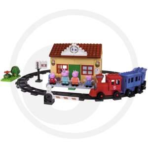 BIG BLOXX PEPPA PIG TRAIN STATION traukinių stotis
