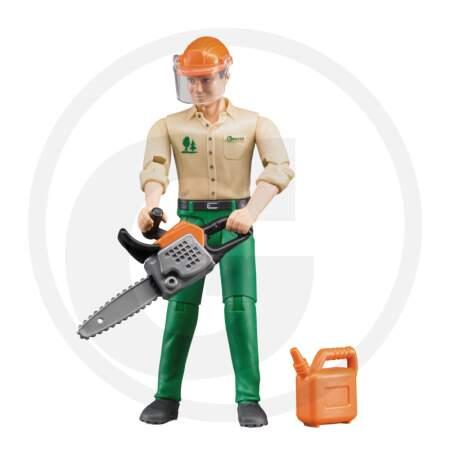 BRUDER FORESTRY WORKER miško darbuotojas.