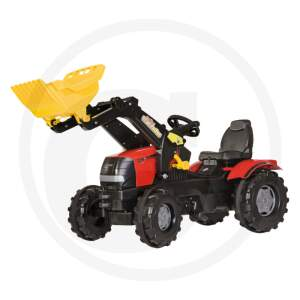 Rolly Toys Pedal tractor with Trac loader Case Puma CVX 240  traktoriukas