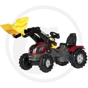 Minamas Traktoriukas minamas pedalais vaikams ROLLY TOYS VALTRA T163