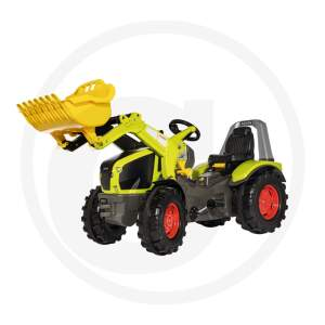 Traktorius Rolly Toys Pedal tractor with loader X-Trac Premium Claas Axion 950 Minamas