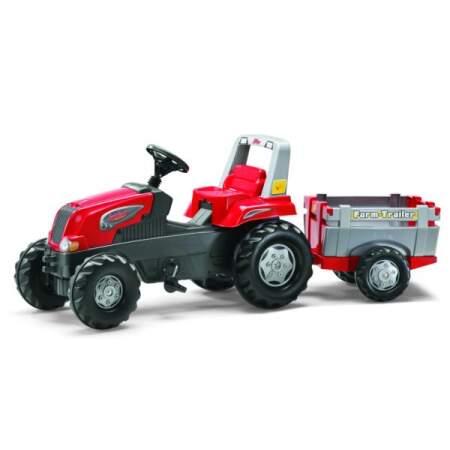 ROLLY TOYS ROLLYJUNIOR RT Minamas traktoriukas su priekaba
