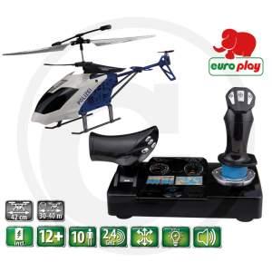 Policijos sraigtasparnis valdomas nuotoliniu distanciniu būdu