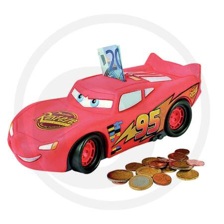 Taupyklė Žaibas Makvynas WD CARS - LIGHTNING MCQUEEN MONEY BOX