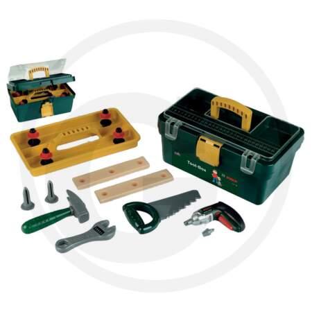 KLEIN vaikiška įrankių dėžė su priedais