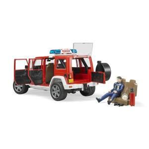 BRUDER Džipas Ugniagesio gaisrininko džipas Jeep Wrangler Unlimited Rubicon Fire Department, 02528. Numatomas pristatymas nuo 22.12.2021