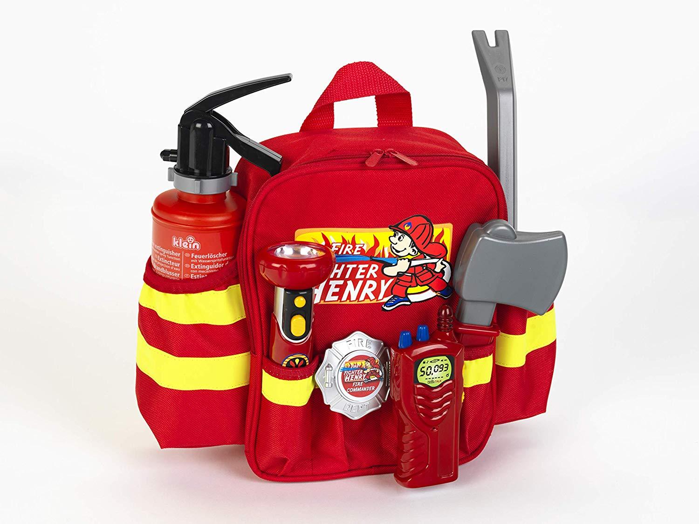 Gaisrininko ugniagesio kuprinė su įrankiais