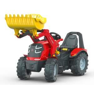 ROLLY TOYS X-TRAC PREMIUM traktorius su frontaliniu krautuvu ir stabdžių rankena
