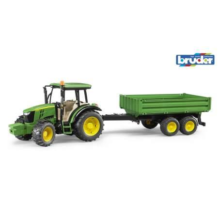 BRUDER mini traktorius John Deere 5515M, 02108 Numatomas pristatymas nuo 30.11.21
