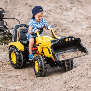 Minamas traktorius Rolly Toys Pedal tractor with loader X-Trac Premium Cat