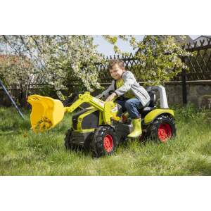 Minamas traktorius Rolly Toys Pedal tractor with loader X-Trac Premium Claas Axion 960