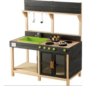 Medinė Virtuvėlė  Yummy lauko virtuvė pažangi