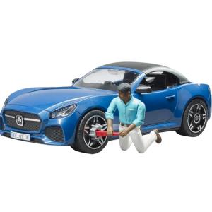 BRUDER Roadster su vairuotoju 03481 2020 m.kolekcija, 03481