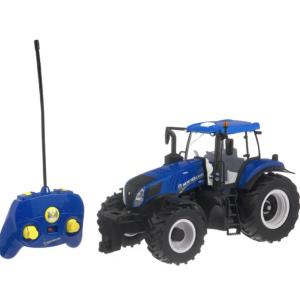 New Holland T8.320 nuotolinio valdymo traktorius su distanciniu