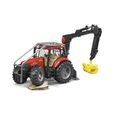 BRUDER miškovežis su krautuvu, 03097 traktorius, 03097
