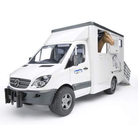 BRUDER Gyvulių pervežimo mašina MB Sprinter, 02533