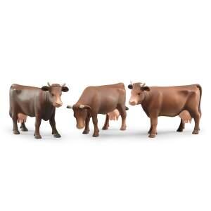 BRUDER vaikiškas žaislas-priedas karvė, galimos 3 skirtingos pozicijos, 02308