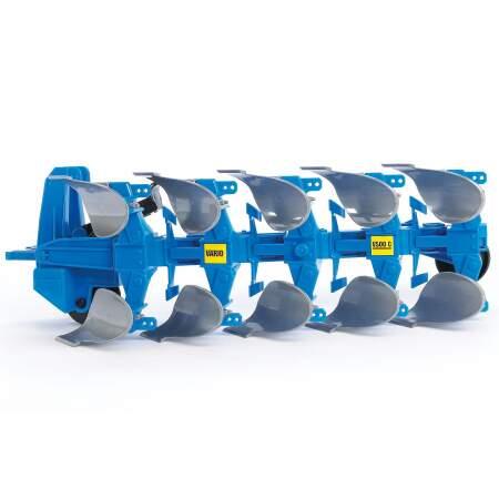 BRUDER žaislinis vartomasis plūgas, 02331