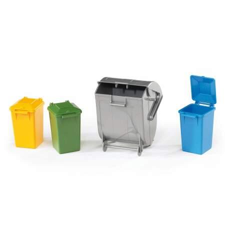 BRUDER šiukšlių konteinerių rinkinys, 02607