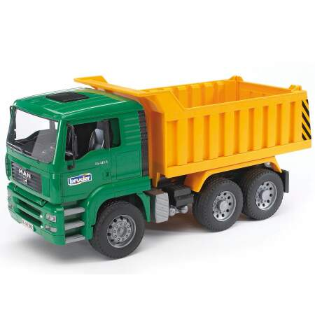 BRUDER MAN TGA Savivartis sunkvežimis, 02765