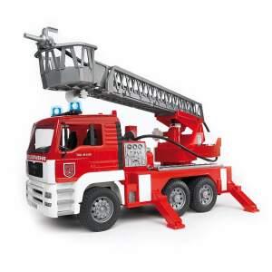 BRUDER žaislinis gaisrinis kranas Gaisrinė Gaisrininko mašina, 02770