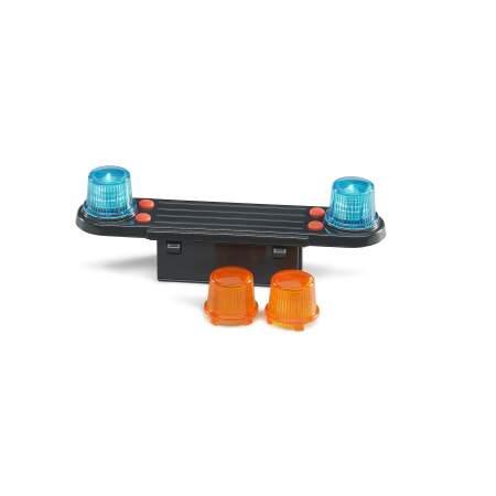 BRUDER švyturėlis  žaislinis švyturėlių ir garsinio signalo modulis BRUDER mašinėlėms, 02801
