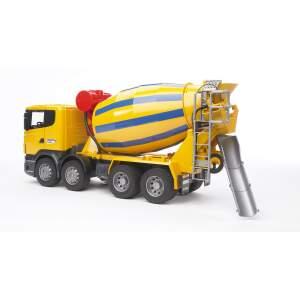 BRUDER betono maišyklė  žaislinė mašina cemento maišyklė Scania R betonmaišyklė Betonvežis, 03554