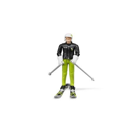 BRUDER žaislinė slidiningo figūra su priedais, 60040