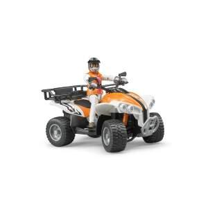 BRUDER žaislinis keturratis su žaisline vairuotojo figūra, 63000 Numatomas pristatymas nuo 18.11.21