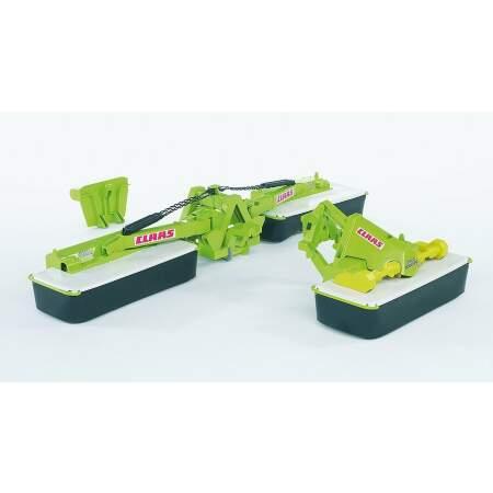BRUDER šieno pjovimo mašina  vaikiška žaislinė šienapjovė Claas Disco 8550 C Plus, 02218