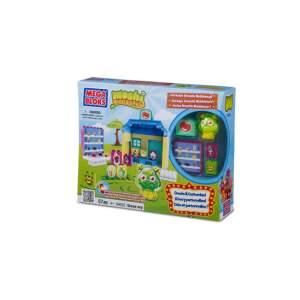 MOSHI MONSTERS Mega Bloks žaidimas vaikams GROSS-ERY STORE  rinkinys